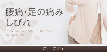 腰痛・足の痛みしびれ Low back pain,Pedialgia Numbness. CLICK